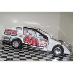 Pete Bicknell 2015 #42 Hard Plastic Toy car