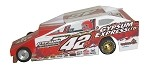 Slot Magic 1 Dirt Modified body - Pat Ward #42P 2013