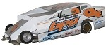 Slot Magic 1 Dirt Modified body - Duane Howard #4 2012
