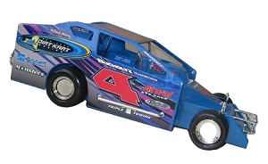Greg Martin 2015 #4 Hard Plastic Toy car