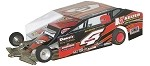 Slot Magic 1 Dirt Modified body - Tim McCreadie #4 2013