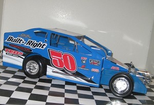 Tom Tophoven 2015 Sportsman car #50 Hard Plastic Toy car