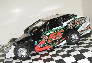 Matt Hulsizer 2016  #55 Hard Plastic Toy car