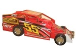 Jesse Cotrissn#55c Hard Plastic Toy car