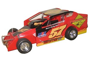 Donnie Corellis 2008 Syracuse Big Block #57 Hard Plastic Toy car
