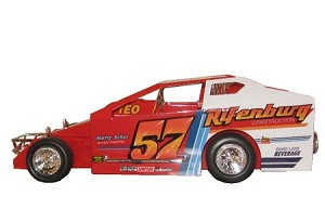 Tommy Corellis #57 Hard Plastic Toy car