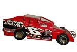 Pat O'Brien 2015 #6  Hard Plastic Toy car