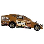 Doug Hoffman Coors Extra Gold #60 Over Hard Plastic Toy car