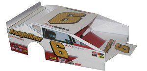 Slot Magic 3 Dirt Modified body - Danny Johnson #6 1998