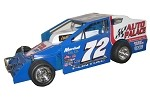 Eddie Marshall #72  Hard Plastic Toy car