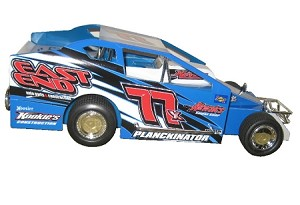 Dale Planck 2007 #77x Hard Plastic Toy car