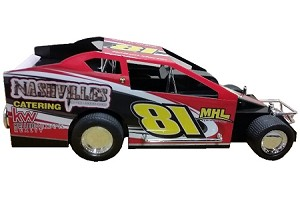 Dalton Martin 2018  Sportsman #81 Hard Plastic Toy car