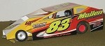 Slot Magic 1 Dirt Modified body - Tim Sears Jr. #83x 2013