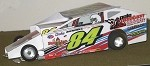 Slot Magic 1 Dirt Modified body - Gary Tomkins #84 2012