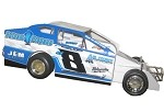 Greg Sleight 2018  #8SL Hard Plastic Toy car