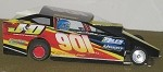 Slot Magic 1 Dirt Modified body - Jimmy Horton #901  2005