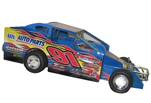 Billy Decker Syracuse car 2014  #91 Hard Plastic Toy car