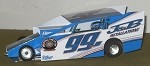 Slot Magic 2 Dirt Modified body - Jimmy Phelps #99J 2013