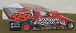 Slot Magic 1 Dirt Modified body - Larry Wight #99L 2013