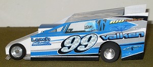 Slot Magic 2 Dirt Modified body - Wade Hendrickson #99 2012