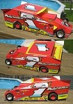 Slot Magic 2 Dirt Modified body - Doug Hoffman #1 1996