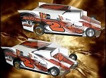 Slot Magic 2 Dirt Modified body - Sweet Dreams #2
