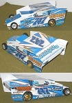 Slot Magic 2 Dirt Modified body - Ryan Godown 2009 #747
