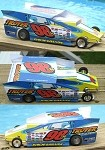 Slot Magic 2 Dirt Modified body - Jimmy Phelps 2009 #98H
