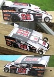 Slot Magic 2 Dirt Modified body - Dave Lape 2008 #22