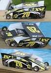 Slot Magic 2 Dirt Modified body - Tony Stewart 2002 #20