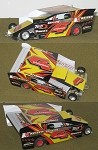 Slot Magic 2 Dirt Modified body - Michael Storms #4