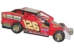 Billy Pauch 2009 #126 Hard Plastic Toy car