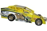Alan Johnson 2009 Syracuse Big Block #14J Hard Plastic Toy car