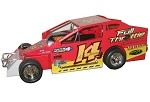 Alan Johnson 2013 358 #14J Hard Plastic Toy car