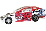 Alan Johnson2017 #14J Hard Plastic Toy car