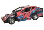 AJ Miller 2017 Sportsman #14J Hard Plastic Toy car  Blk