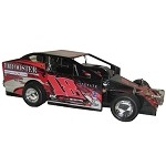 Jason Rood 2016 Sportsman car #18J Hard Plastic Toy car