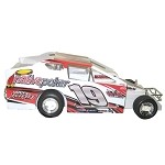 Tim Fuller 2006 #19 Hard Plastic Toy car
