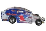 Gary Tomkins 2004 Syracuse Big Block #1 Hard Plastic Toy car