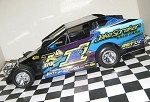 Rocky Warner 2016  Sportsman #1J Hard Plastic Toy car