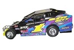 Rocky Warner Sportsman  #1J Hard Plastic Toy car