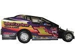 Rocky Warner  2016 Sportsman #1J Hard Plastic Toy car (Purple)