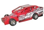 Jeff McGinnis 2018 358 #20 Hard Plastic Toy car