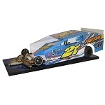 Slot Magic 3 Dirt Modified body - Pete Britten 2012 #21A