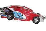 Jeff Trobley 2004 Big Block #21J Hard Plastic Toy car