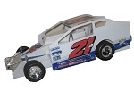 Pete Britten 2017 Big Block #21A Hard Plastic Toy car