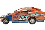 Danny Johnson 2017 Oswego Big Block #27J  Hard Plastic Toy car