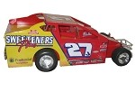 Danny Johnson Sweeteners Plus Big Block #27J Hard Plastic Toy car
