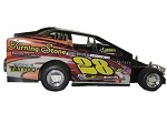Tye Scott Rood 2016 Sportsman car #28J Hard Plastic Toy car