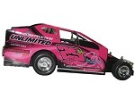 Chris Cunningham 2016 Sportsman car #29K Hard Plastic Toy car